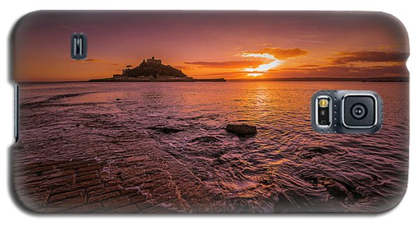 St Michael's Mount - January Sunset Galaxy S5 Case