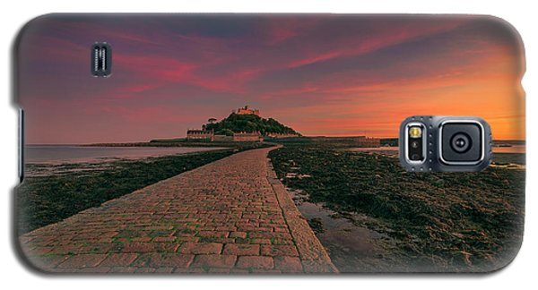 St Michael's Mount Sunset Galaxy S5 Case