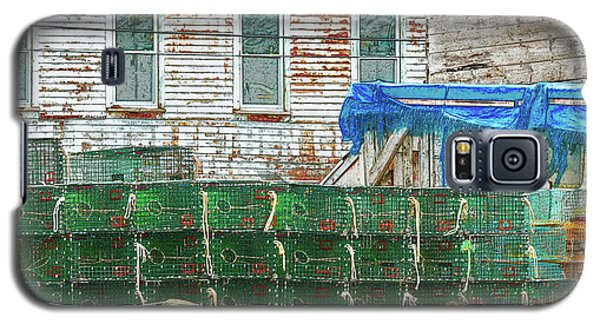 Stacked Lobster Traps Galaxy S5 Case