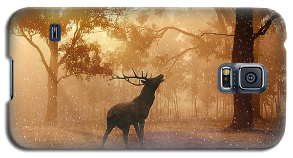 Stag In The Forest Galaxy S5 Case