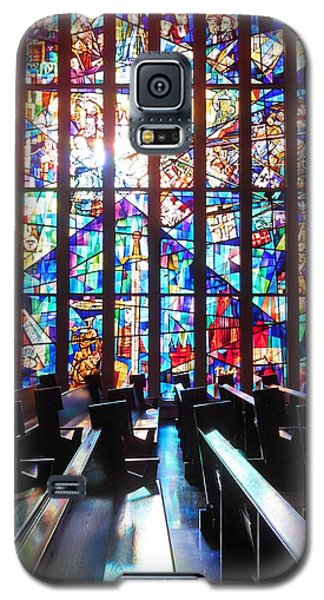Stained Glass Historical Our Lady Of Czestechowa Shrine Galaxy S5 Case