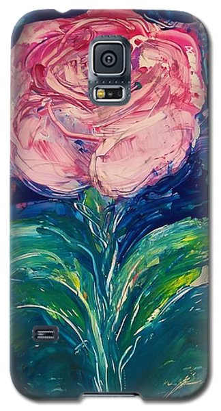 Standing Rose Galaxy S5 Case