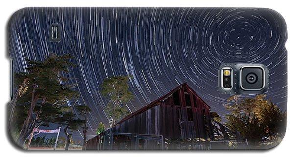Star Trails Over Bonetti Ranch Galaxy S5 Case