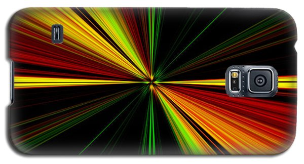 Starburst Light Beams Design - Plb461 Galaxy S5 Case