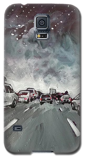 Starry Night Traffic Galaxy S5 Case