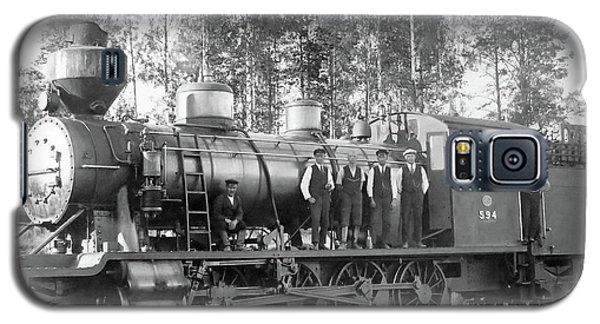 Steam Engine Locomotive 594 Finland Galaxy S5 Case