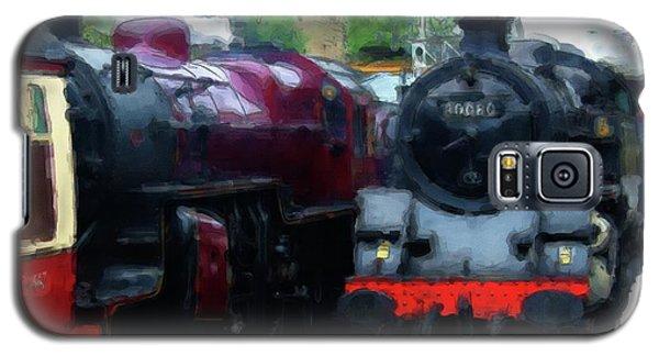 Steam Trains Galaxy S5 Case