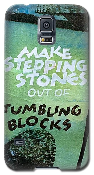Stepping Stones Galaxy S5 Case