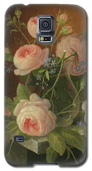 Still Life With Roses, Circa 1860 Galaxy S5 Case