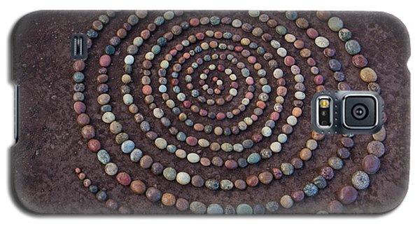 Stone Spriral Galaxy S5 Case