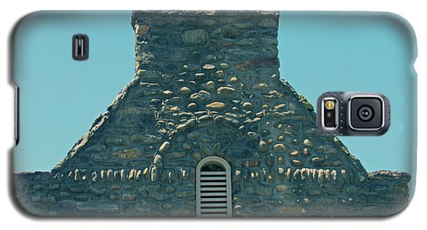 Stone Topper On Building Galaxy S5 Case