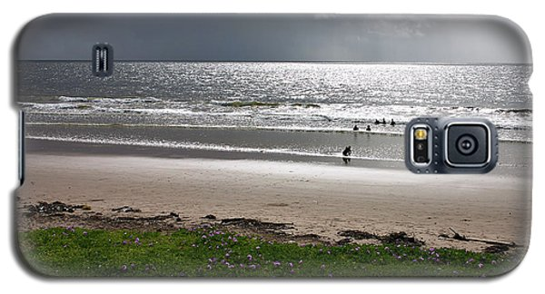 Storm Brewing Over The Sea Galaxy S5 Case