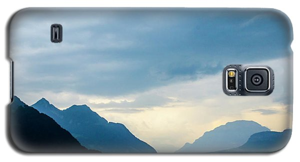 Storm Clouds On Lake Lucerne Galaxy S5 Case