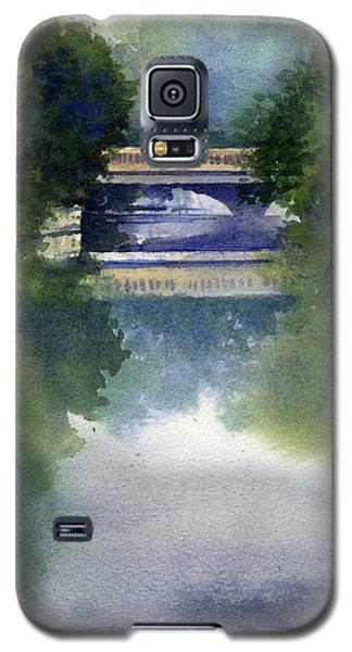 Stormy Day On Bridge Road Galaxy S5 Case
