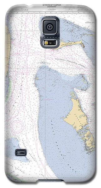 Straits Of Florida, Eastern Part Noaa Nautical Chart Galaxy S5 Case
