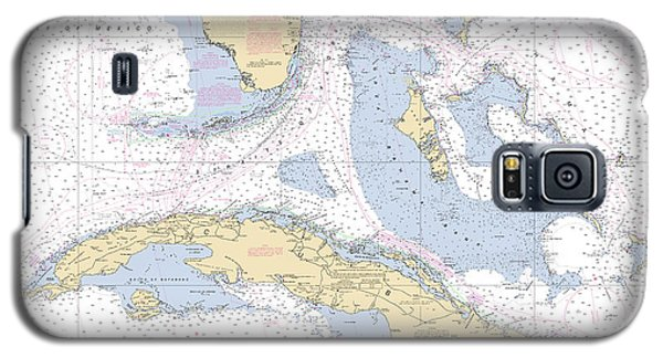 Straits Of Florida Nautical Chart 11013 Galaxy S5 Case