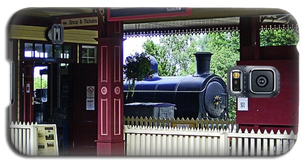 Strathspey Railway. Caladonian Railway 828 Galaxy S5 Case
