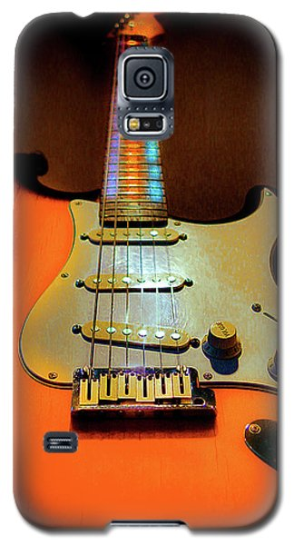 Stratocaster Triburst Glow Neck Series Galaxy S5 Case