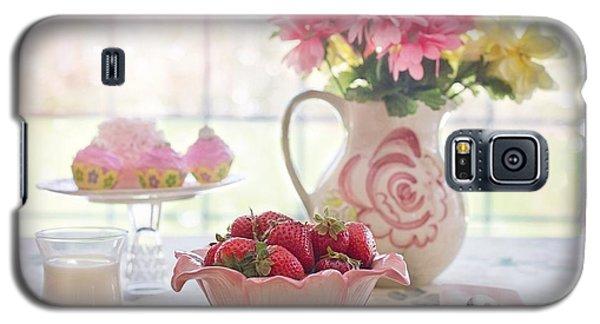Strawberry Breakfast Galaxy S5 Case