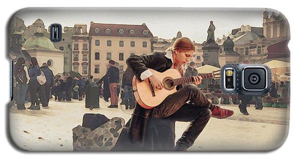 Street Music. Guitar. Galaxy S5 Case