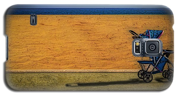 Stroller At The Beach Galaxy S5 Case