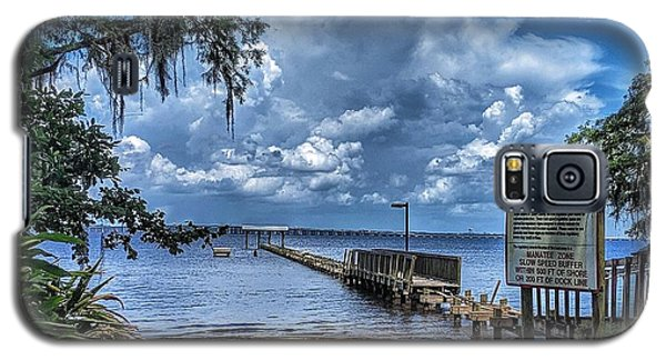 Strolling By The Dock Galaxy S5 Case