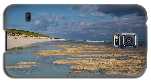 Stromatolites On Stocking Island Galaxy S5 Case