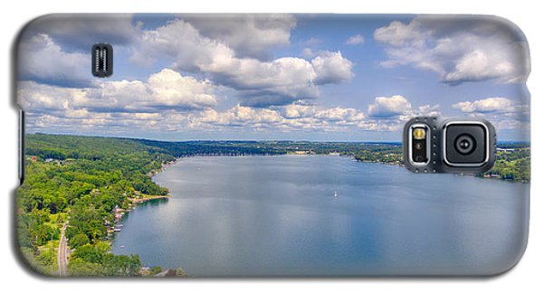 Summer Clouds On Keuka Lake Galaxy S5 Case