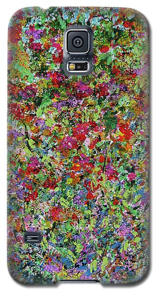 Galaxy S5 Case featuring the painting Summer by Corinne Carroll