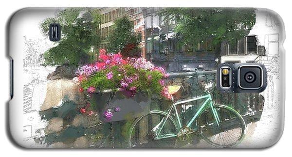 Summer In Amsterdam Galaxy S5 Case