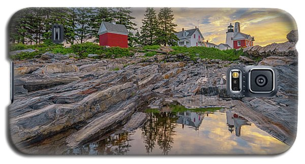 Summer Morning At Pemaquid Point Lighthouse Galaxy S5 Case