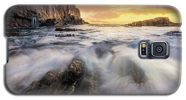 Summer Sunrise At Bald Head Cliff Galaxy S5 Case