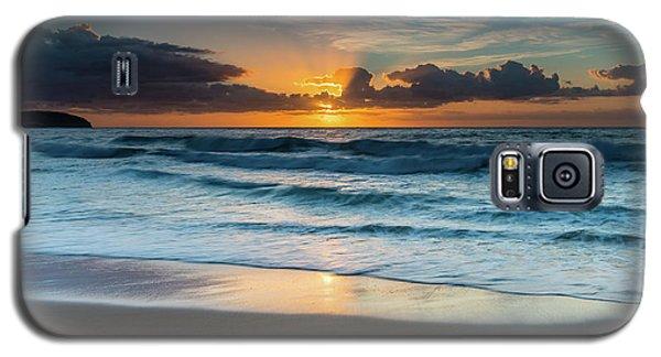 Sun Glow Seascape Galaxy S5 Case