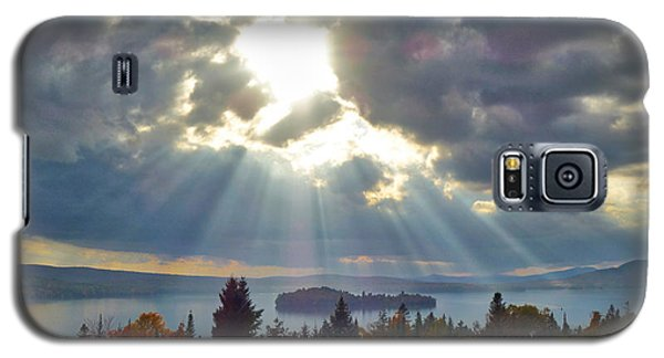Sun Rays Over Rangeley Lake Galaxy S5 Case