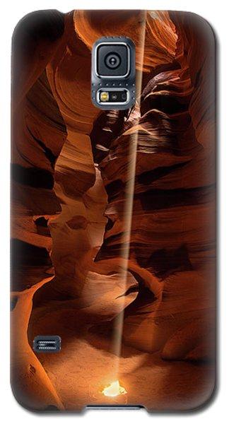 Sunbeam In Upper Antelope Canyon Galaxy S5 Case