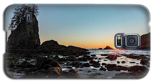 Sunburst At The Beach Galaxy S5 Case