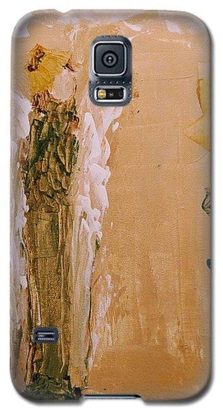 Sunflower Angel Galaxy S5 Case