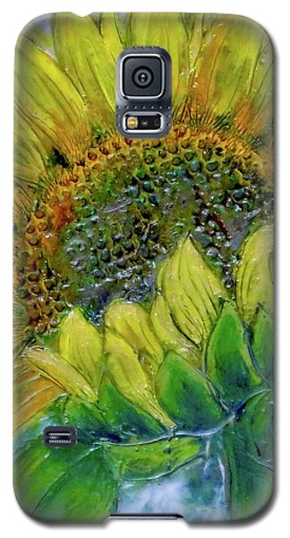 Sunflower Happiness Galaxy S5 Case
