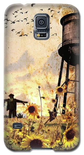 Sunflowers At Dusk Galaxy S5 Case