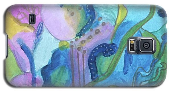 Sunny Day Abstract Galaxy S5 Case
