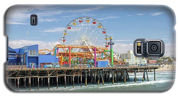 Sunny Day On The Santa Monica Pier Galaxy S5 Case