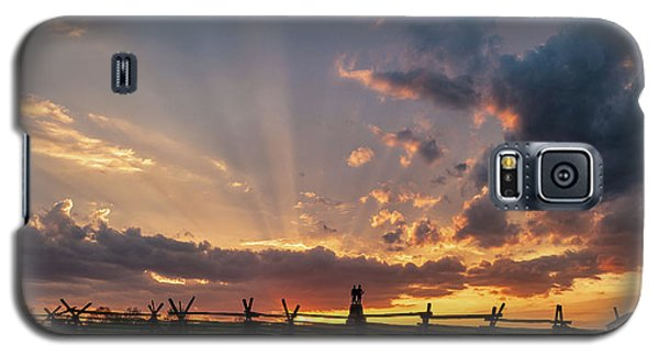 Sunrays At Sunset Galaxy S5 Case