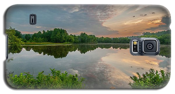 Sunrise At Ross Pond Galaxy S5 Case