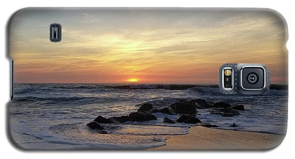 Sunrise At The 15th St Jetty Galaxy S5 Case