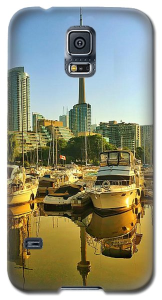 Sunrise At The Harbour Galaxy S5 Case