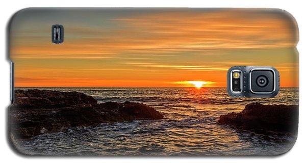 Sunrise By The Mediterranean Sea In Oropesa, Castellon Galaxy S5 Case