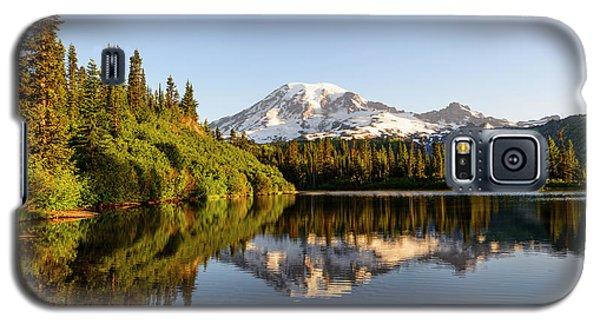 Sunrise In Mt Rainier  Galaxy S5 Case