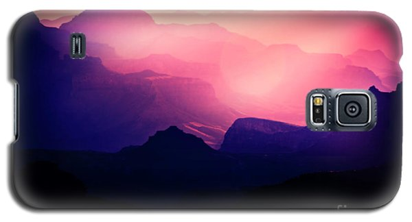 Sunrise In The Canyon Galaxy S5 Case