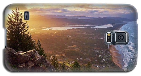 Sunrise On Neahkahnie Galaxy S5 Case