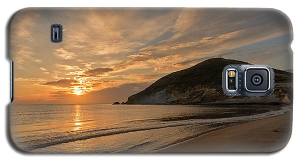 Sunrise On The Beach Of The Genoveses Of Cabo De Gata Galaxy S5 Case